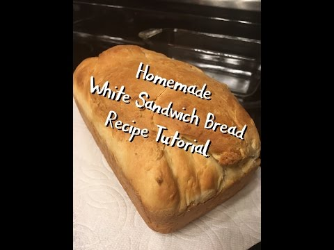 Homemade White Sandwich Bread Recipe Tutorial | The Urban Lady Bug