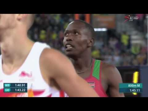 Kinyamal wins first gold for Kenya at the Commonwealth games