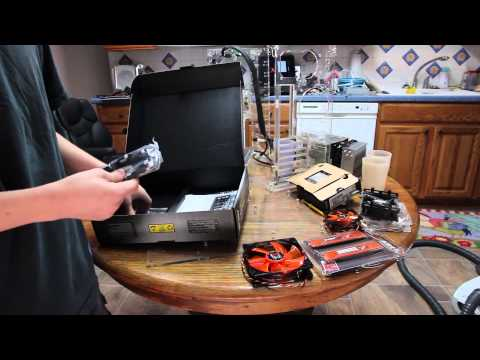 Asus Sabertooth X79 Motherboard Unboxing