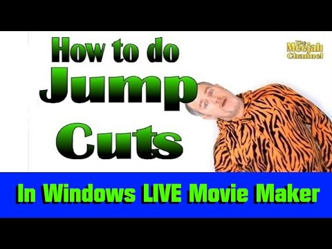 HOW TO EDIT JUMP-CUTS IN WINDOWS LIVE MOVIE MAKER