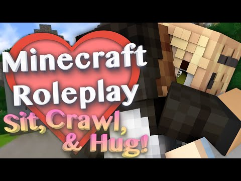 Sit, Crawl, & Hug! with More Player Models 2 Mod (Minecraft Roleplay Tutorial) Ep.3