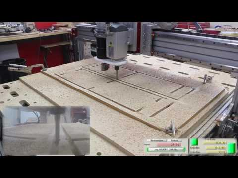 Plug and Play 2.2 kW Spindle - Plywood Processing Test Cuts
