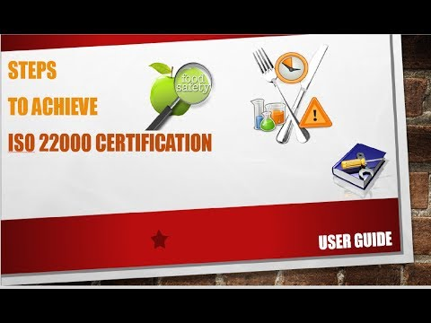 Food Safety   ISO 22000   Step by Step Tutorial to Achieve ISO 22000 Certification