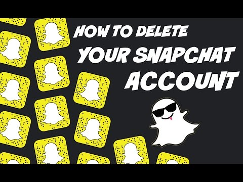 How To Delete Your Snapchat Account   HD