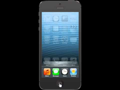Apple iPhone 5 Close an Application