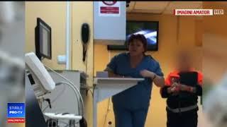 Asistentă din Oradea filmată în timp ce țipă la pacienți