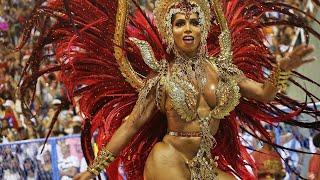 Rio Carnival 2018 [HD] - Floats & Dancers   Brazilian Carnival   The Samba Schools Parade