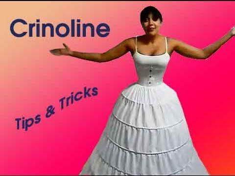 Crinoline (Hoopskirt) Tips & Tricks | Lucy's Corsetry