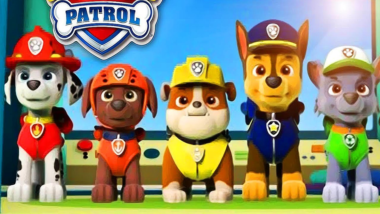 PAW Patrol on a Roll - All Episodes - All Missions by Chase, Everest, Marshall, Rocky, Rubble, Skye