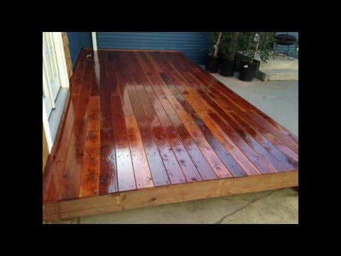 How To Build A Deck - Half Idiot's Guide - HGTV House Hunters Renovation House