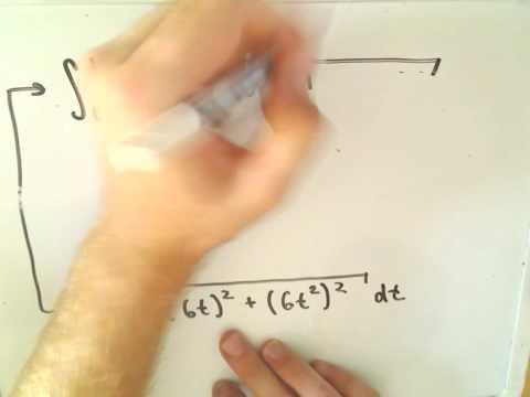 Arc Length Using Parametric Curves
