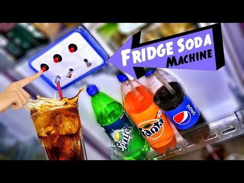 🍷 Cold Drinks Dispenser inside the Fridge = Super chilled fun 🤖