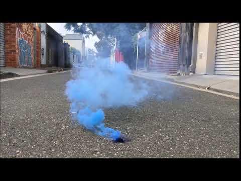 Smoke Cake Test (Blue)