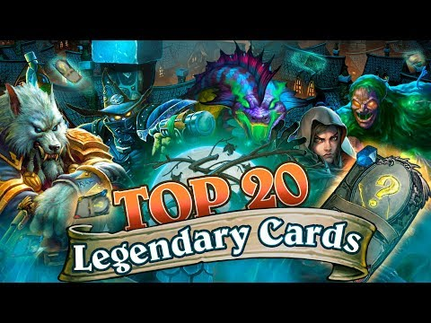  The Best Legendary Cards from The Witchwood. New Hearthstone Meta Decks (first week's results)