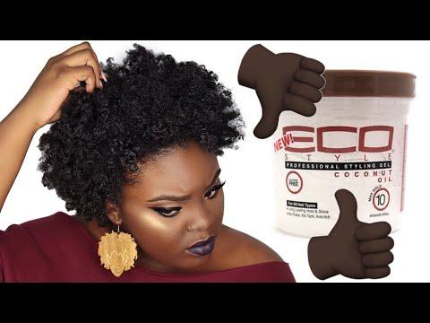 Eco Styler Coconut Oil Gel on 4C Natural Hair.... WYD SIS?! | In-Depth Review & Demo | JOYNAVON