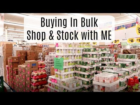 Buying In Bulk | Shop & Stock With Me!