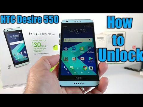 How to Unlock HTC Desire 550 for all Carriers