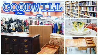 GOODWILL IS OPEN!!! SHOP WITH ME