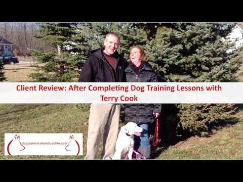 Columbus Ohio Dog Training Customer Review with Columbus Ohio Dog Trainer Terry Cook