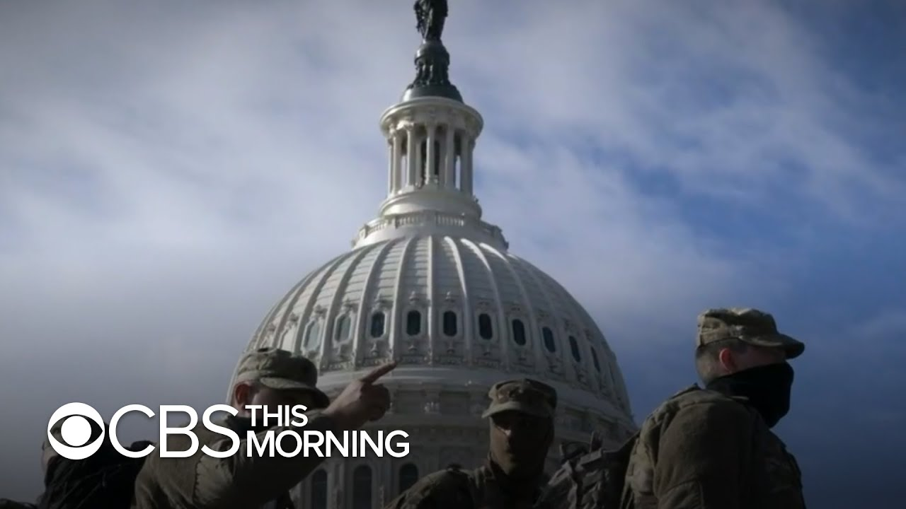 Unprecedented security measures in D.C. as capital prepares for inauguration