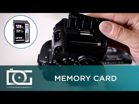 Canon 5D Mark IV: Memory Cards | Video Tutorial
