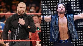AJ Styles Hints At WWE Run Ending! Triple H Gives Update On Future Of WWE wwe results wwe news