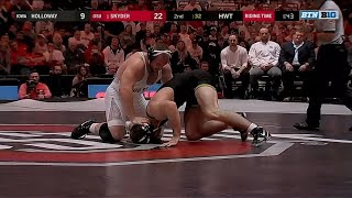 Kyle Snyder Tech Fall Over Steven Holloway