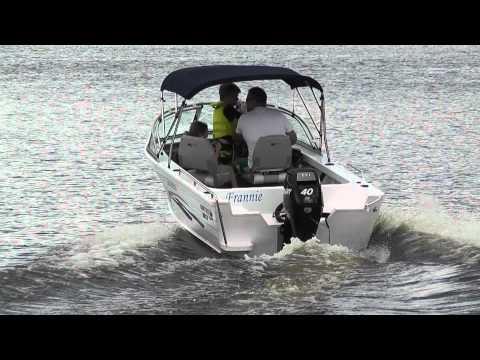 Dud's New Boat on Lake Lyell