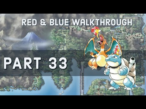 Pokemon Red/Blue Walkthrough - Part 32 - Victory Road