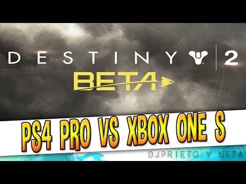 Y DEJA ALGO MUY CLARO ...ESTA COMPARATIVA GRÁFICA | Beta Destiny 2: PS4 Pro vs Xbox one S