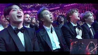 Download 190211 방탄소년단 BTS reaction @Grammy Awards Video