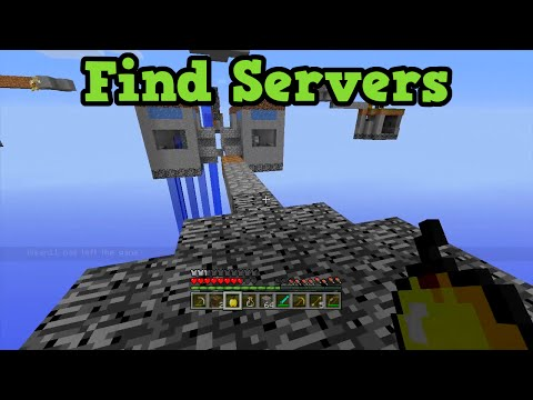 Minecraft Xbox 360 + PS3: SERVERS - Find & Play With New People