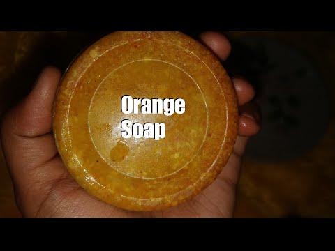 How to make Orange Soap at home || Nikkita.trove