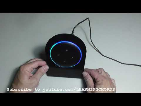 Echo Dot 3rd Gen Stand Holder for Desk table counter by Trenela REVIEW