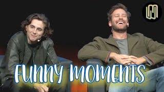 Armie Hammer & Timothée Chalamet - Funny Moments PART 1