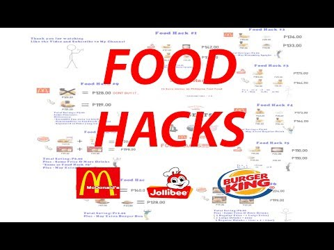 9 Food Hacks to Save Money on Fast Food in The Philippines