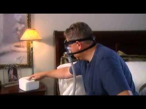 1800CPAP.COM:  IntelliPAP Auto Adjust CPAP Machine Instructional Video