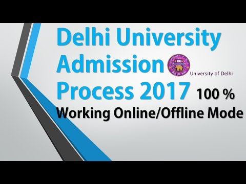 Delhi University Admission 2017 and How to Apply in DU | Admission Procedure