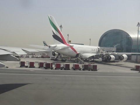 Emirates Airbus A380 - Dubai to London Heathrow