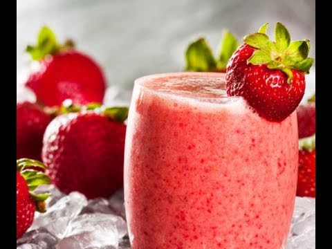 Super Easy Strawberry Smoothie - my way