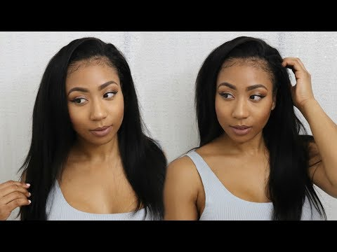 ♥︎♥︎ How I Install My U-Part Wig + Review Asteria Hair |︎ Best Brazilian Straight Hair ♥︎