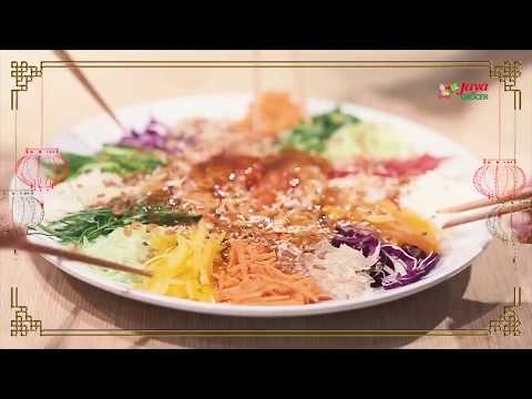 Recipe #1 - Chinese New Year Yee Sang