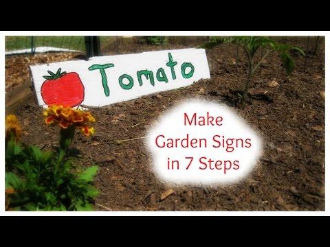 Make Garden Signs in 7 Steps