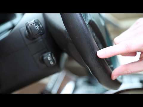 BMW Leather Steering Wheel Detailing
