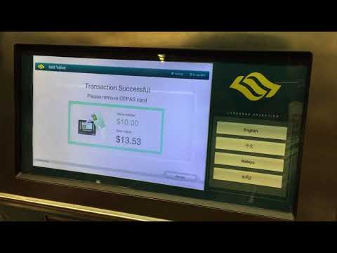 How to Top Up EZ Link Card Singapore 2017