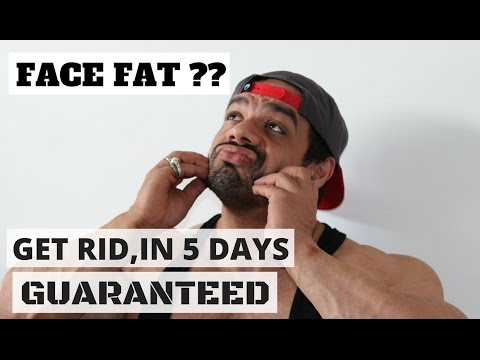 Get Rid of FACE FAT| DOUBLE CHIN |Slim Jaw Line in 5 days GUARANTEED !