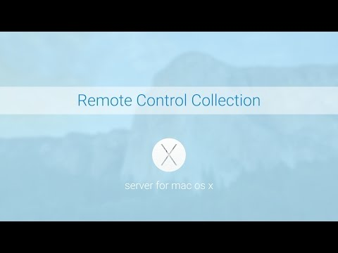 Server for Mac OS X - Remote Control Collection