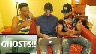 GHOSTS CAUGHT ON CAMERA (REACTION)