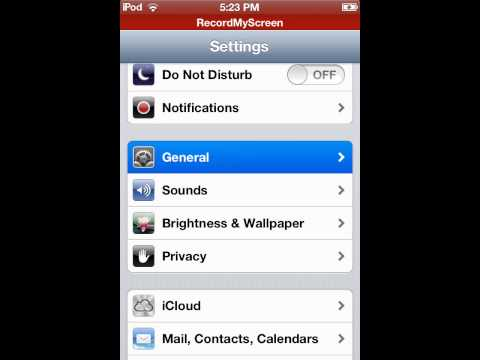 How to change your date & time on your iPod/iPhone (quick tutorial)