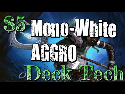 Mtg $5 Deck Tech: Budget White Aggro in BFZ Standard